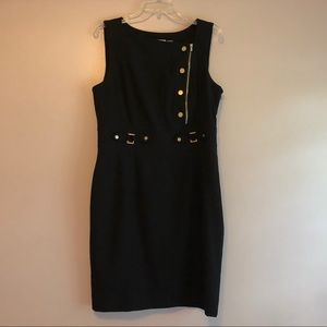 Calvin Klein Black Dress Sleeveless Size 12
